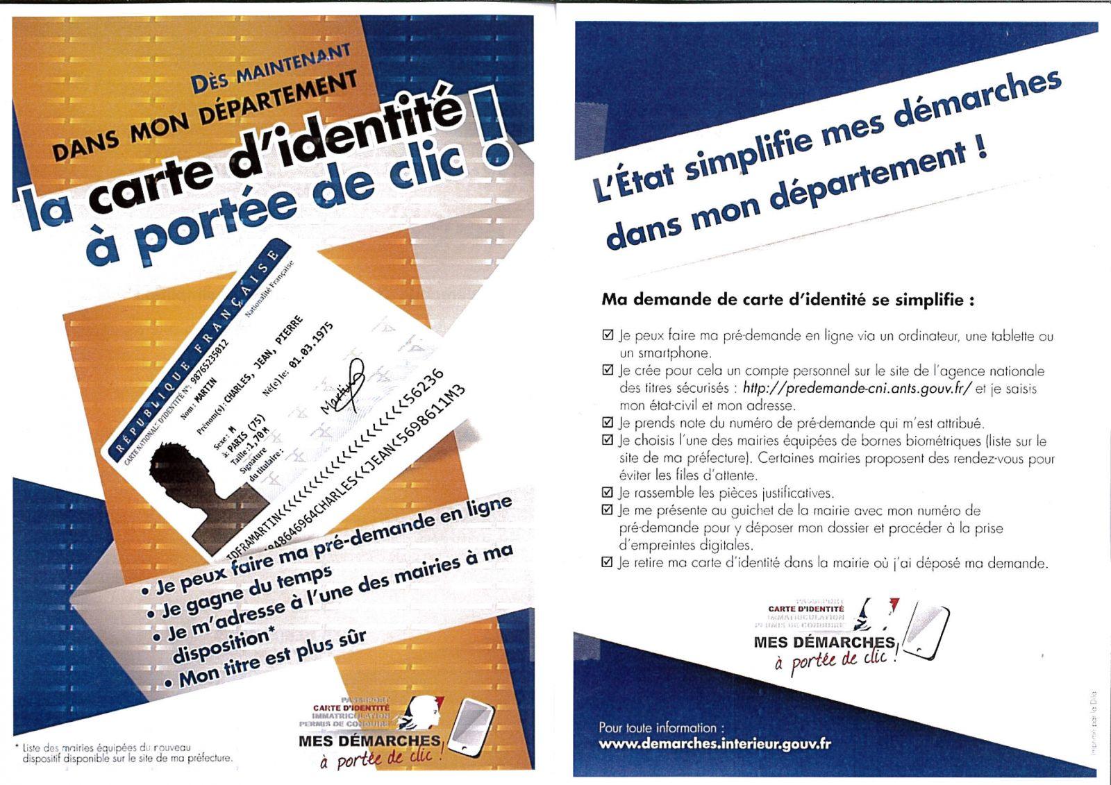 Demarches Carte D Identite Passeport Recensement Militaire Carte